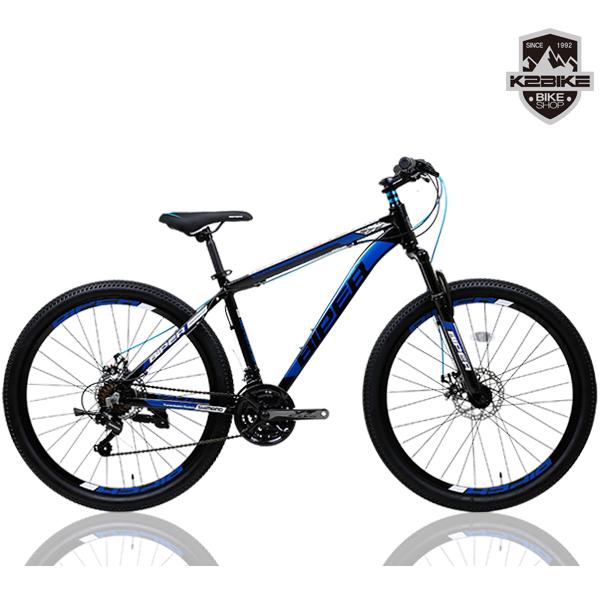 K2BIKE 2021 MTB자전거 메커드2.1D 26인치 시마노21단 디스크 MTB 자전거, 메커드2.1D 26형 블랙+블루 미조립+소형공구