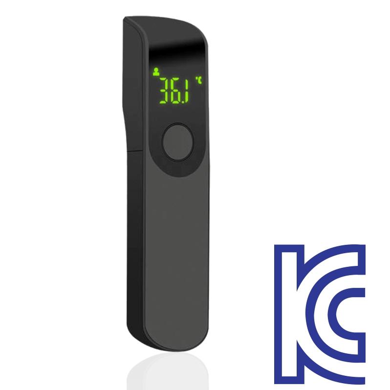 (보관파우치+마스크1BOX증정 이벤트)이지체크 초소형 비접촉적외선 온도계 비접촉식 온도측정기 1개 (POP 5226785415)