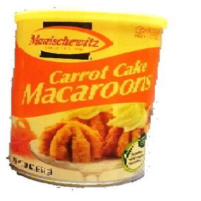 Manischewitz Carrot Cake Macaroons 10 once Kosher for Passover Manischewitz 당근 케이크 마카롱 10 회 유월절, 1