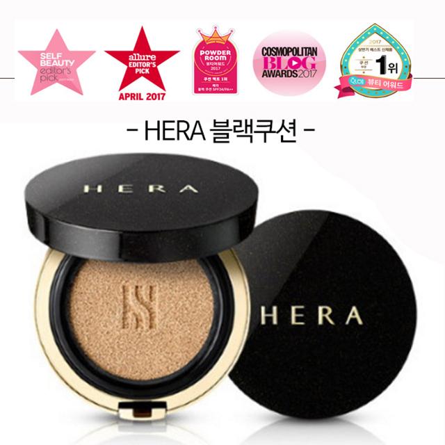 헤라 블랙쿠션 본품+리필 세트, 1세트, 21호