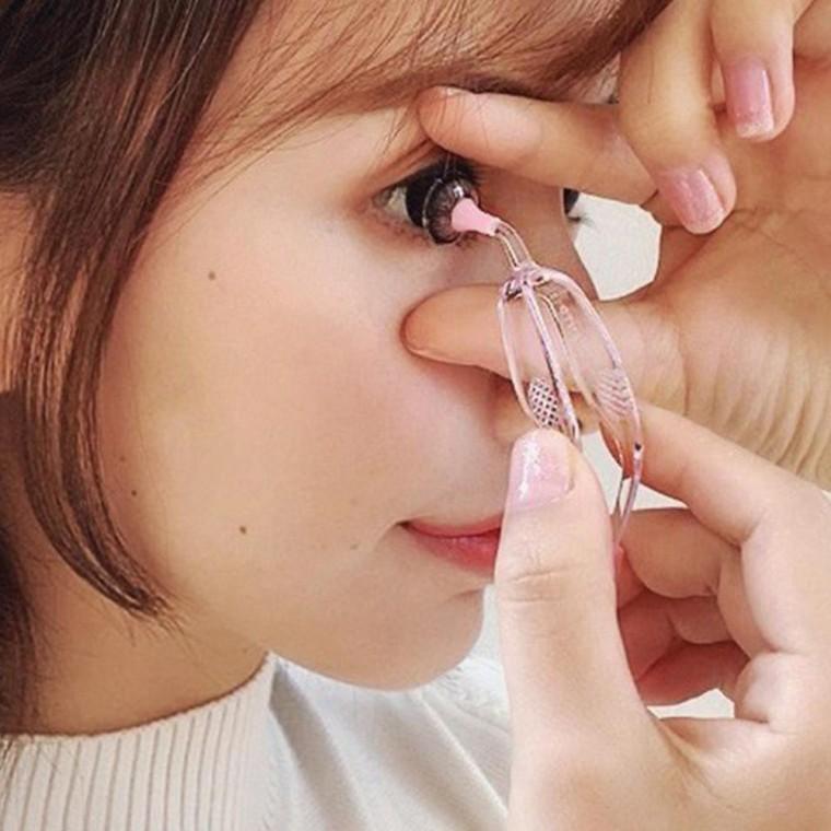 렌즈 흡착봉 집게 소프트렌즈 핀셋 콘택트렌즈 원데이, 투명