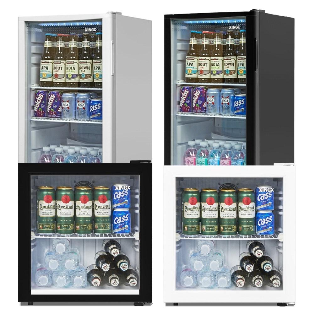 음료수냉장고 LSC-60 LSC-92 소형쇼케이스 미니술장고, LSC-60화이트(LED)