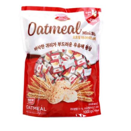 리치 오트밀 미니바이트 스낵, 1000g, 6개