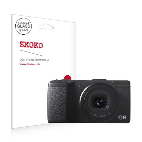 [바보사랑]펜탁스 리코 GR2 강화유리 카메라 액정보호필름 (1매), 1개