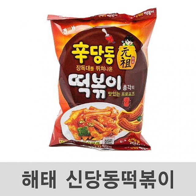 제이제이마트 신당동 떡볶이 103g 24봉 스낵, 1