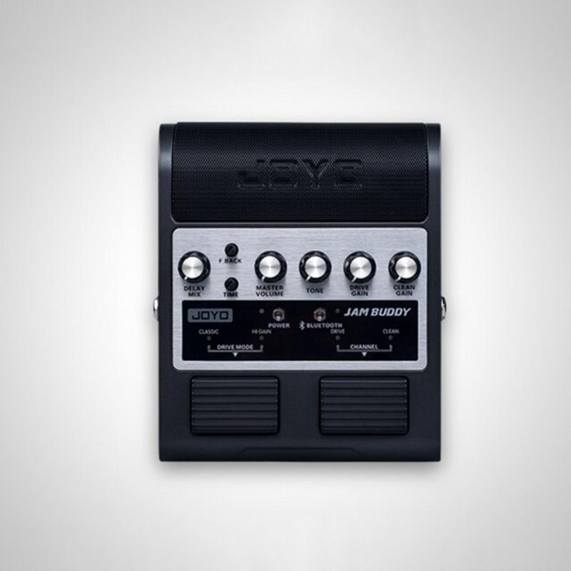 JAM BUDDY 미니 휴대용 기타 스피커 Amp BT 스테레오 기타 앰프 기타 애호가를위한 충전식 배터리 내장, 검정