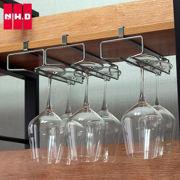 NHB 와인잔거치대 와인잔걸이 보관, 02) 2 Line