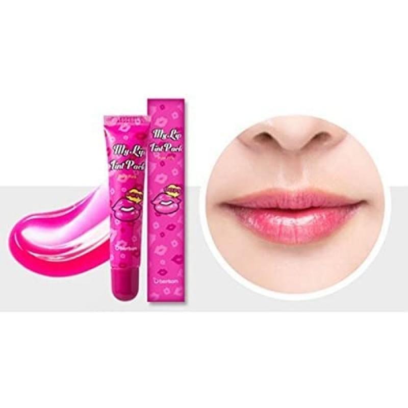 berrisom (베리사무) 내 립 틴트 팩 퓨어 핑크 15g, 1, 단일상품