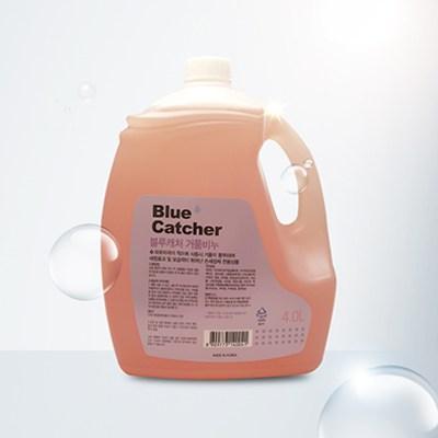 블루캐처 거품비누(4L) 대용량 손세정제 핸드워시 가정용 업소용 핸드솝 버블 리필, 4L-26-4900390841