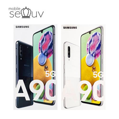 삼성 갤럭시 A90 5G (SM-A908) 새제품 미사용 무료배송 자급제, 화이트