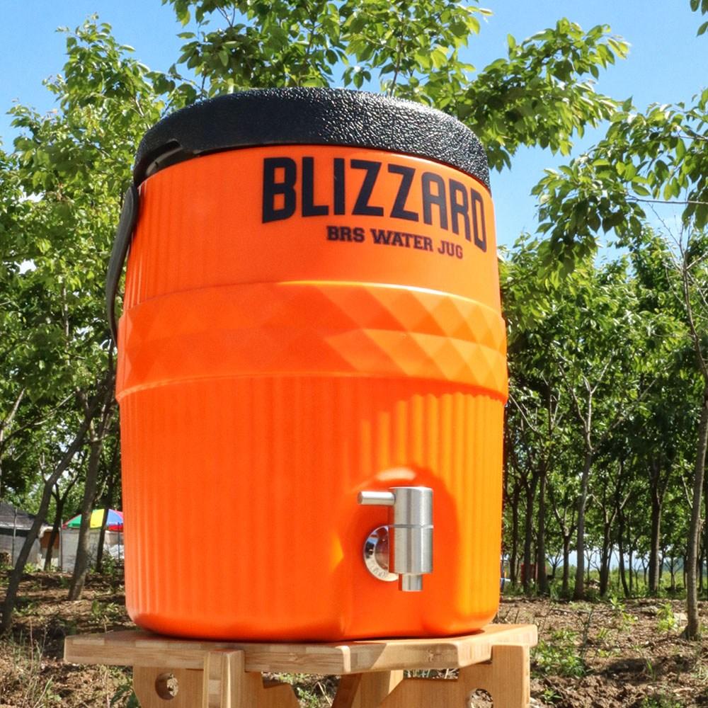 BRS 워터저그 캠핑 보냉 물통 스피고 7.6리터 2갤런