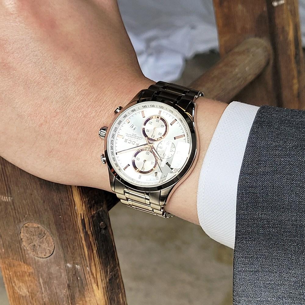 [포체] 포체 프리미엄 남자 메탈 손목시계 FM7528 - 랭킹7위 (89000원)