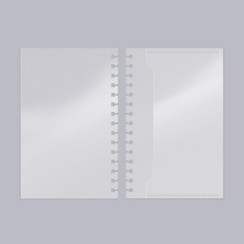 모트모트 플래너 커버 플립형 (하프이어용) 1EA