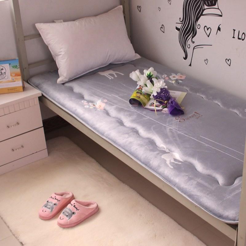 토퍼 템퍼 매트리스 침구 기타 싱글 학생 기숙사 털 퍼 다운 침대 요, AM_90 x 190
