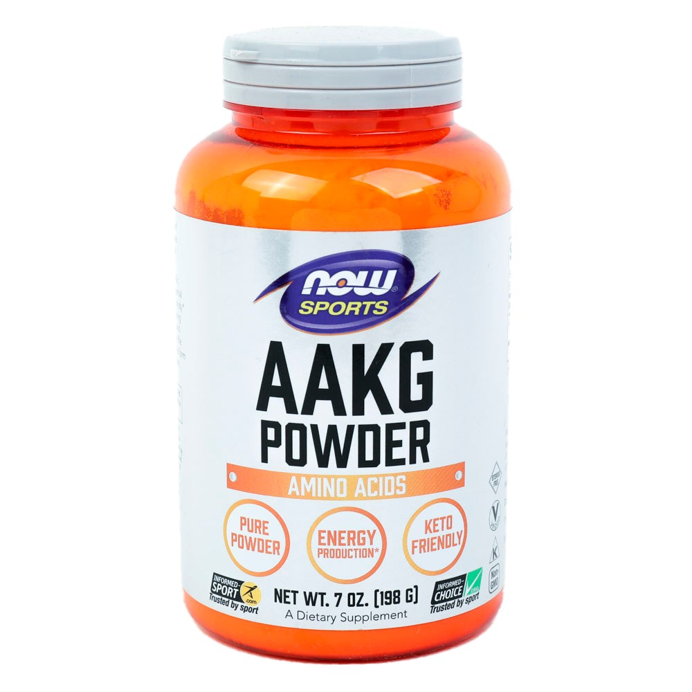 Now Foods Aakg 파우더, 198g, 1개