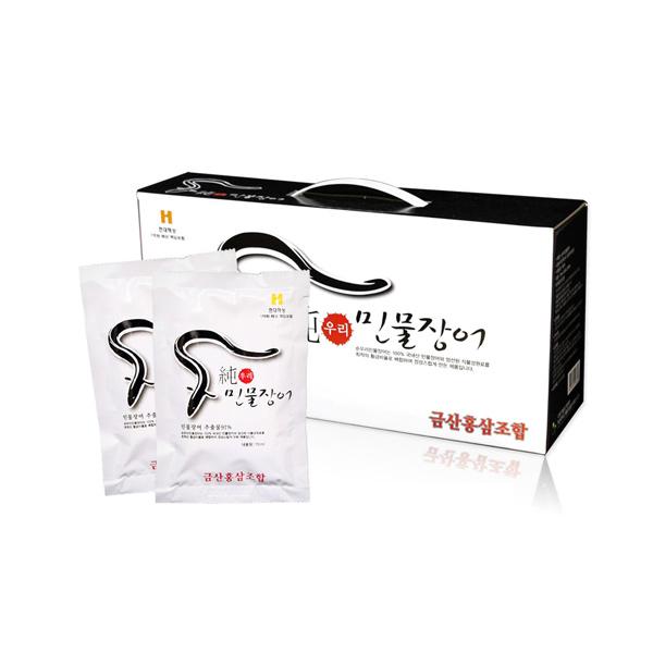 국내산 민물장어 2박스 60포 장어엑기스 장어즙 선물세트