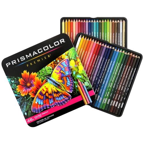 자체브랜드 PRISMACOLOR 프리즈마 프리미어 유성색연필 48색 세트