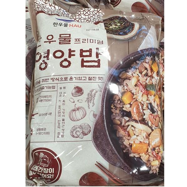 코스트코 한우물 프리미엄 영양밥 300g X 5 달래간장포함