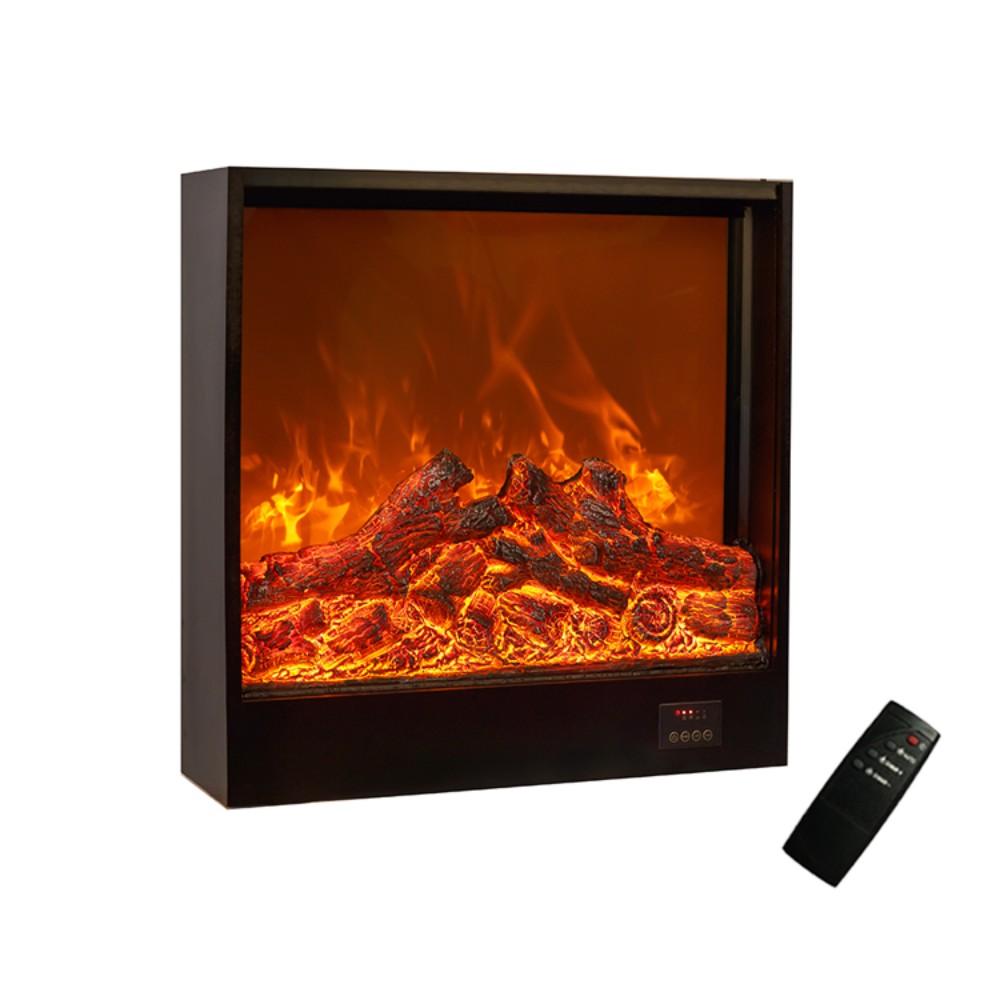 북유럽 전자 벽난로 코어 장식 장식품 거실 초박형 현대 가정 시뮬레이션 벽난로 불꽃 히터, 600x180x600