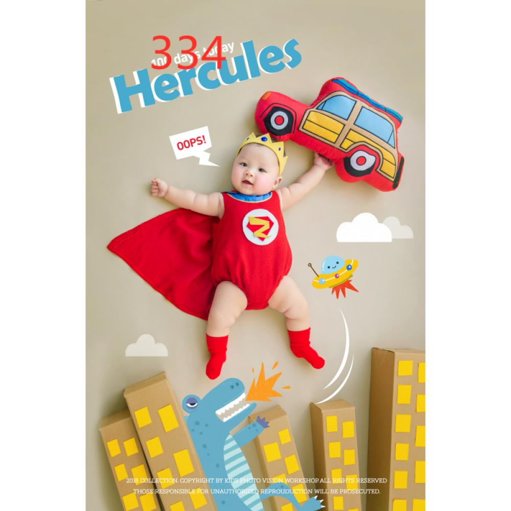 아기 백일 사진 소품 의상 대여 만월 백일 촬영 소품 아기 백일 촬영 테마 의상 옐 로 우 슈퍼맨 보름달 5 개 월