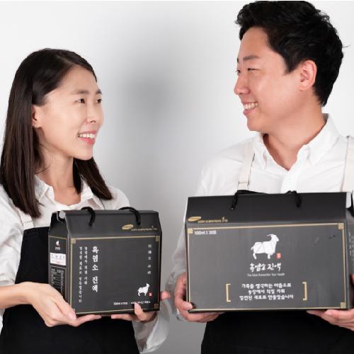 흑색건강 청년농부 정진욱의 흑염소진액 1박스 30포x100ml, 1박스 30포 100ml, 1box