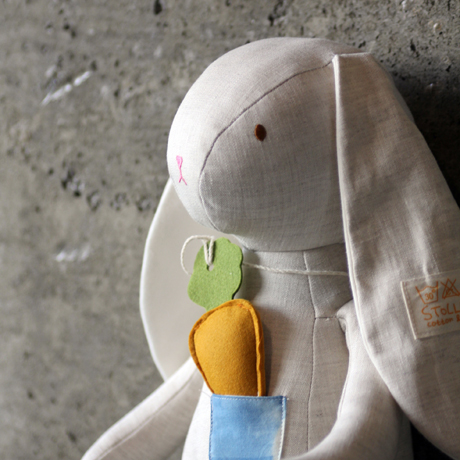 슈톨렌 당근토끼 애착인형 (45cm)