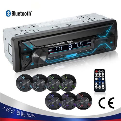 ilavu 12V 3010 블루투스 자동차 라디오 오디오 MP3 플레이어