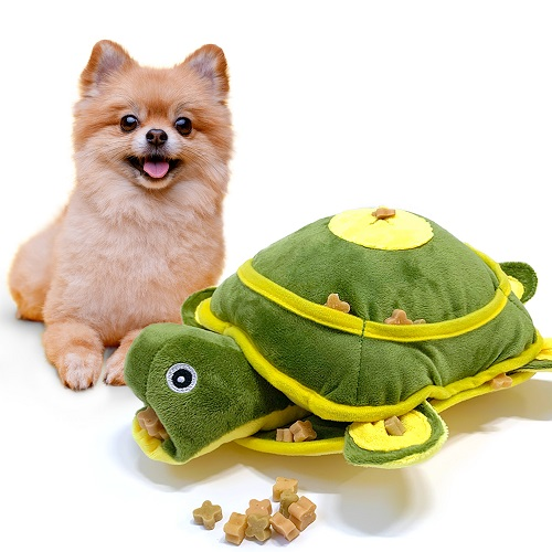 펫트너스 꼬부기 노즈워크 인형 강아지 고양이 분리불안 장난감