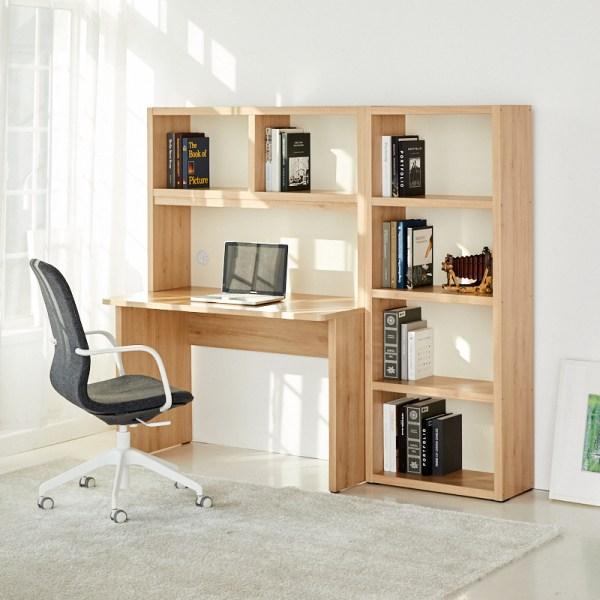 모던하우스 해운대 니노 1100 베이직 책상+600책장 세트, 사진참조