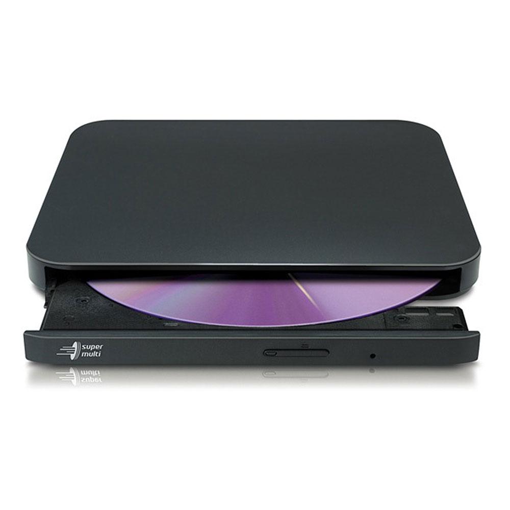 LG전자 휴대용 모바일 DVD플레이어 멀티 라이터 갤럭시 S8 S9 S10 S20 S21휴대폰 탭S6 탭S7 태블릿 호환 CD 데이터 오디오 추출, 블랙