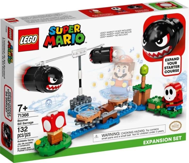 레고 슈퍼마리오 71360 신제품 스타터 팩 쿠파 요새 확장시리즈 추가구성 가능, 71366 캐논볼 어쌔신 런치 확장팩