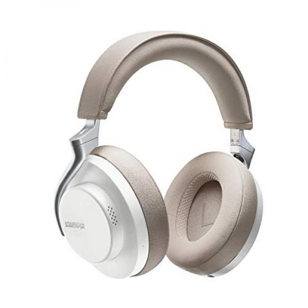 Shure AONIC 50 무선 헤드폰 소음 제거 기능 스튜디오 품질의 최고급 사운드 Bluetooth 5 편안한 오버 이어 시트 20