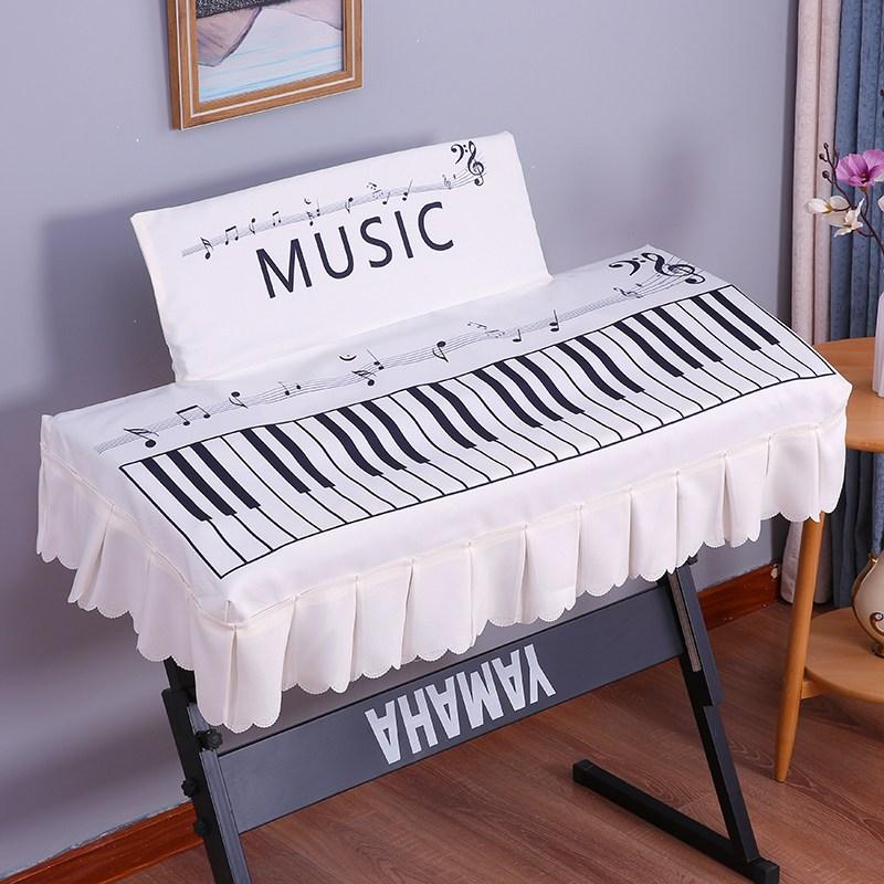 디지털피아노 프린팅 전자피아노 커버전기 피아노 88건 방진커버 61건, C02-PX-S1000BK(미포함 커버), T10-음표 전자피아노 후드