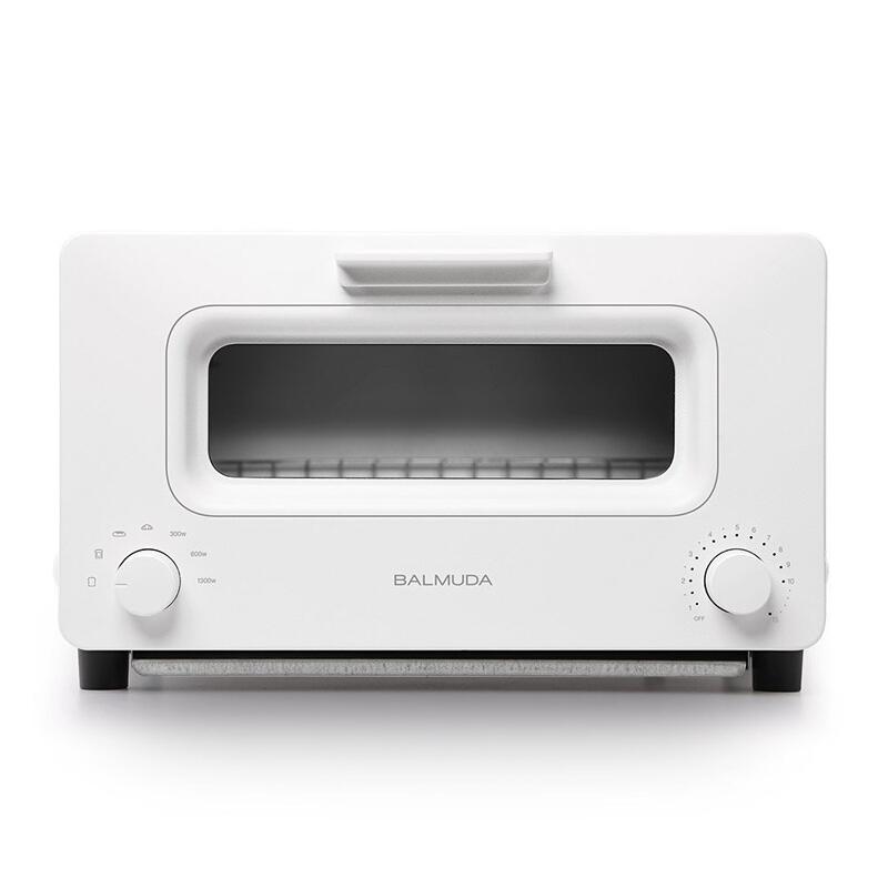 BALMUDA/BALMUDA The Toaster 다기능 스팀 오븐 토스터 화이트 K01E 변압기 사용, 상세페이지 참조