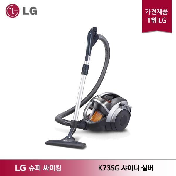 LG전자 LG 슈퍼 싸이킹3 주니어 청소기 K73SG 샤이니 실버, 기타