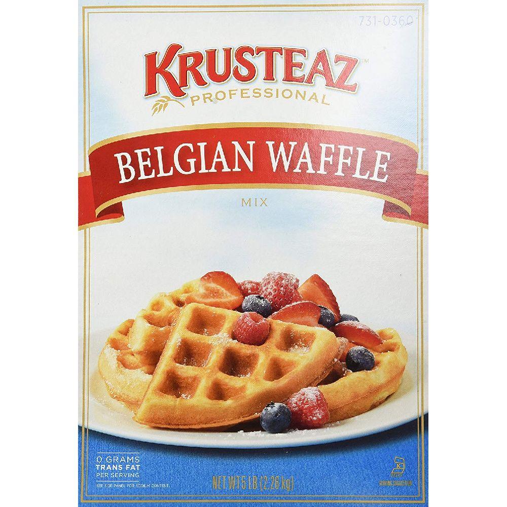 Krusteaz 크루스티즈 벨기에 와플 믹스 2.27 kg, 80 Ounce, 상세페이지참조