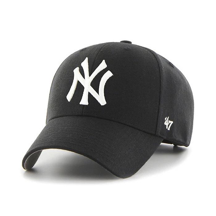 47브랜드 빅로고 NY 양키스 MVP 블랙 / BK