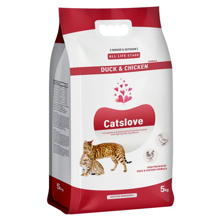 캣츠러브 전연령 고양이사료 5kg 고양이 사료