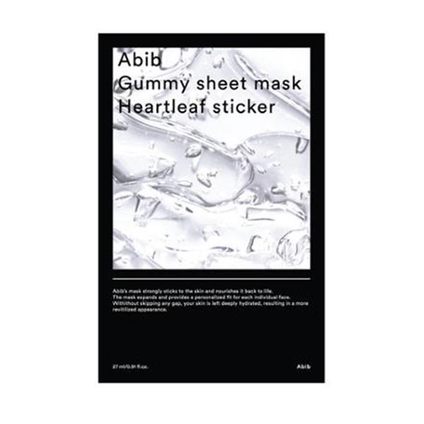 아비브 껌딱지 시트 마스크 어성초 스티커 27ml, 1매, 1개