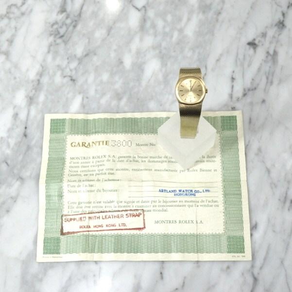 [와이즈럭스]롤렉스 2800 18K골드 금통 셀리니 빈티지 시계 EZP