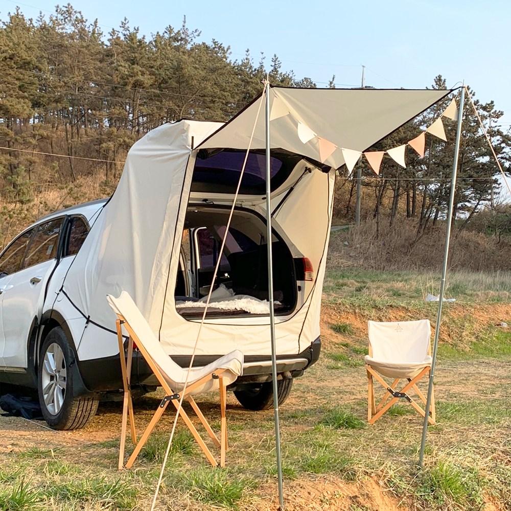 [한정할인특가 50%] suv 스텔스 차량 차박 도킹 텐트 트렁크 꼬리 카 텐트 쏘렌토 싼타페 카크닉, XL 사이즈 (50개한정 반값특가)-16-5832418162