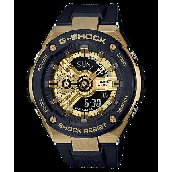 [현대백화점][지샥 G-SHOCK] 지스틸 GST-400G-1A9DRR 빅페이스시리즈 드래스워치 블랙 골드포인트