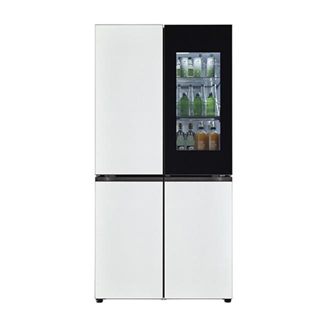 LG전자 M620MWW351S 오브제컬렉션 빌트인 타입 냉장고 1등급 메탈 화이트 화이트