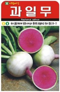 AR 과일무 수박무 달달하고 맛이 좋은 무 씨앗, 상세페이지 참조