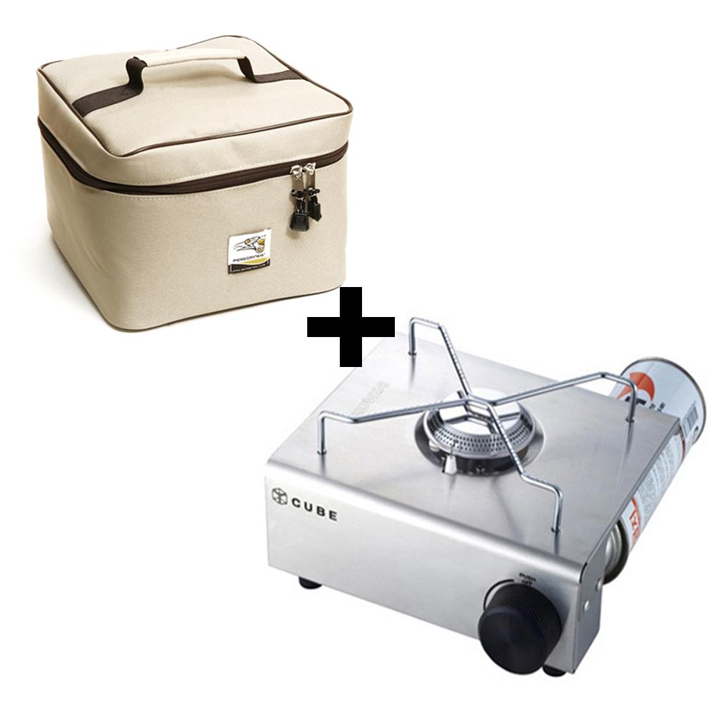 코베아 큐브버너+가방세트 미니가스버너 휴대용 가스렌지