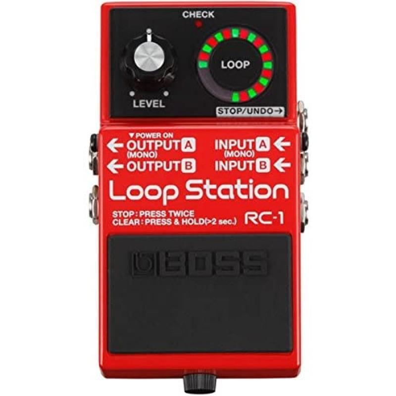 BOSS RC-1 루프 스테이션 : 악기, 단일옵션