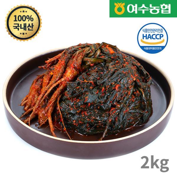 농협 [여수농협] 여수돌산 고들빼기 2kg, 1