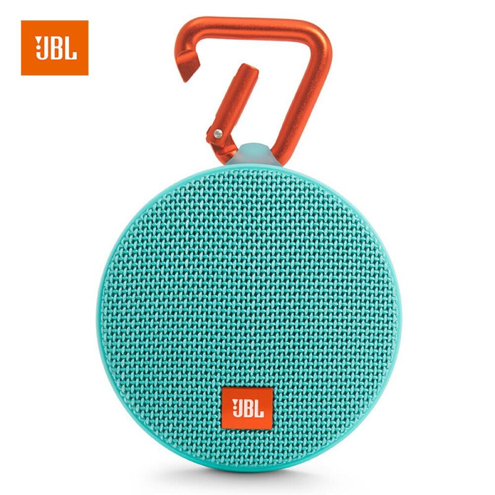 JBL CLIP 2 무선 오르골 세대 블 루 투 스 휴대용 스피커 저음 포 실외 미니 방수 디자인 온라인 넷 강의 홈 교육 녹색