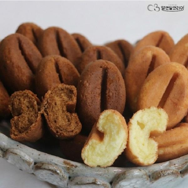 알앤알코리아 커피콩빵400개 +랜덤20개 증정 HACCP (안전포장), 플레인맛 400