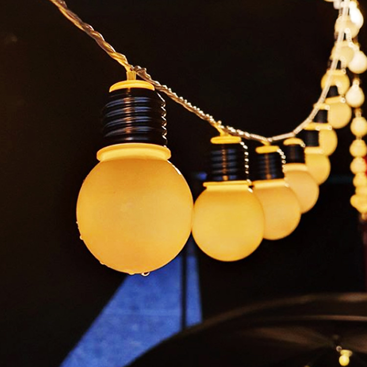 [투썬빌리지] [갬성조작] 로맨틱 빅볼 LED 국민조명 6M 3M, 02_베이직빅볼3m 20등_1개